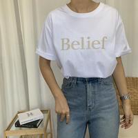 BeliefロゴTシャツ
