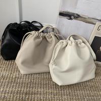 シンプルショルダー巾着bag