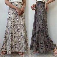 ゼブラマーメイドスカート