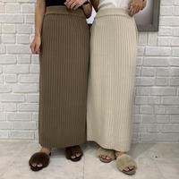 originalリブタイトマキシスカート