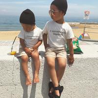 Original・familyロゴTシャツ2・ベビー・キッズ