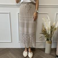 サマーニットタイトスカート