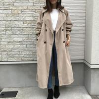 3/14入荷・ボリュームスリーブオーバーロングトレンチコート