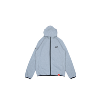 LOGO ZipUp Hooded Jersey [GRAY]