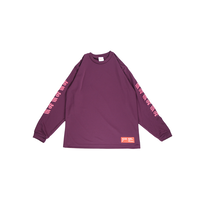 blaZZgameSS Practice DRY L/S TEE [Grape]