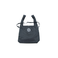 SMOKE ISLAND 2WAY BIG TOTE BAG [BLACK]