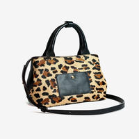 BLEUET MINI TOTE BAG / MICHELLE【LEOPARDxBLACK】