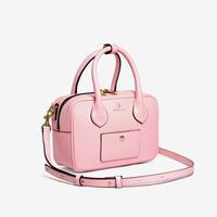 BLEUET MINI BOSTON BAG / BOX【BABY PINK】