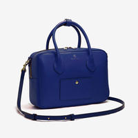 BLEUET M BOSTON BAG / BOX【NAVY BLUE】
