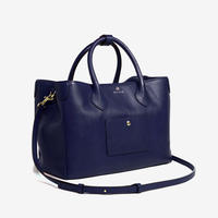 BLEUET M TOTE BAG【NAVY BLUE】