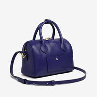 BLEUET MINI BOSTON BAG【NAVY BLUE】