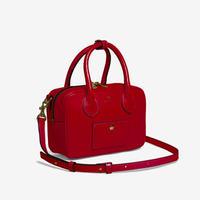 BLEUET MINI BOSTON BAG / BOX【VINTAGE WINE】