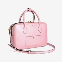 BLEUET M BOSTON BAG / BOX【BABY PINK】
