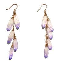 ガーベラピアス(薄紫)DASY EARRING(LILAC)