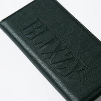 LEATHER LOGO IPHONE CASE