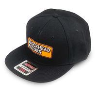 BLOCKHEAD MOTORS スナップバックキャップ Ver.2/刺繍ロゴ