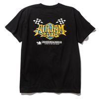 AIR JAM 2018 x TAMIYA x BLOCKHEAD MOTORS コラボTシャツ(ブラック)