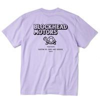 BLOCKHEAD MOTORSスタンダードTシャツ/ライトパープル