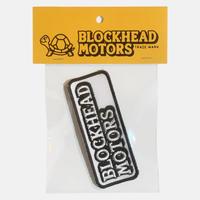 BLOCKHEAD MOTORS 刺繍ワッペン