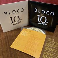BLOCO10周年記念CD+応援ドネーション 10000円