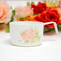 薔薇の食器Lindy(リンディ) ボヌール ホーロー 計量カップ