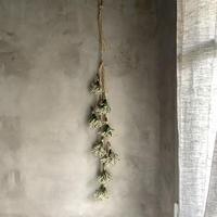 """""""Un-Kai"""" bouquet beaded swag (ハイブリッドスターチス""""雲海""""のブーケビードスワッグ )"""