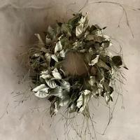 GInba-Gumi Silver Leaf Wreath( 銀葉グミのシルバーリーフリース)
