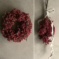 Dried Pinkpepper's Wreath&Swag(ピンクペッパーのリース&スワッグ )