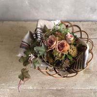 Arorog basket flower assortment (アラログバスケット・フラワーアソート)本州地域・期間限定 9月19日〜9月30日着の配達指定でお受付け致します。)