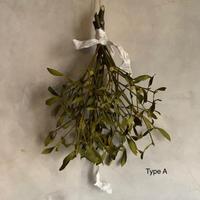 "Dried mistletoe swag ""3-type""(3種類のヤドリギのスワッグ )"