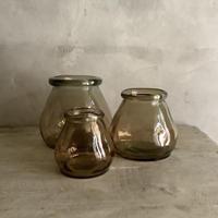 Glass Lantern Cappuccino グラスランタン ・カプチーノ  Mサイズ