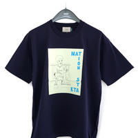 "EVCON×IFNi ""NATION STATE T-SHIRT"" [NAVY]"