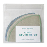 [IFNi ROASTING & CO.]CLOTH FILTER /MIX COLOR(1〜4杯用)