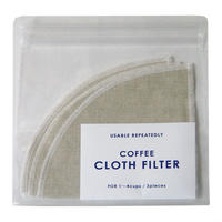 [IFNi ROASTING & CO.]CLOTH FILTER /WHITE(1〜4杯用)