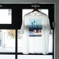 【White】Blue Bird apartment.×イラストレーター辰巳菜穂 限定Tシャツ