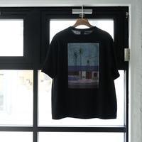 【Black】Blue Bird apartment.×イラストレーター辰巳菜穂 限定Tシャツ