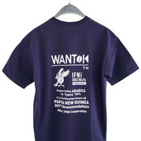 "EVCON×IFNi ""WANTOK T-SHIRT"" [NAVY]"
