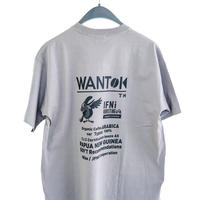 "EVCON×IFNi ""WANTOK T-SHIRT"" [GRAY]"