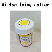 ウィルトン アイシングカラー レモンイエロー28g