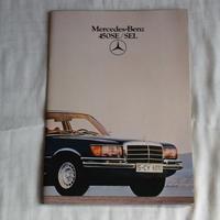 19100044 Mercedes-Benz 450E\SEL カタログ