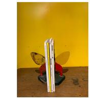 レトロ蝶のブックスタンド