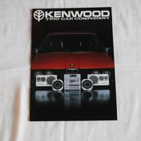 19100052 KENWOOD 車用アクセサリーカタログ