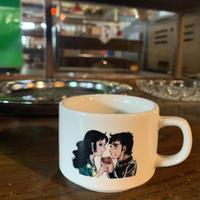 森永ミルクココア/硬派銀次郎/スタッキングマグカップ