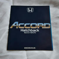 19100040 HONDA ACCORD Hatch back 1600・1800 カタログ