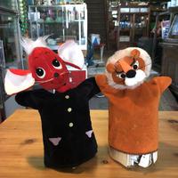 ネズミとライオンの人形セット  19870009