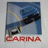 19100031 TOYOTA NEW CARINA カタログ