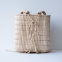 蒜山のがま細工/背負い籠