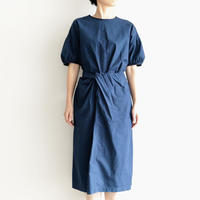 COSMIC WONDER /Organic cotton wrapped dress(lady's /RYUKYU INDIGO)