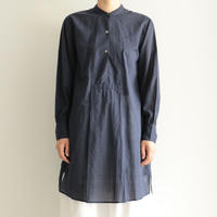 Khadi and Co / kurta long shirts(lady's /DK.INDIGO)