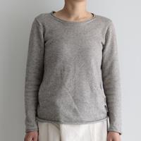 えみおわす /Yaku × Organic cotton sweater (lady's ,men's/Gray)